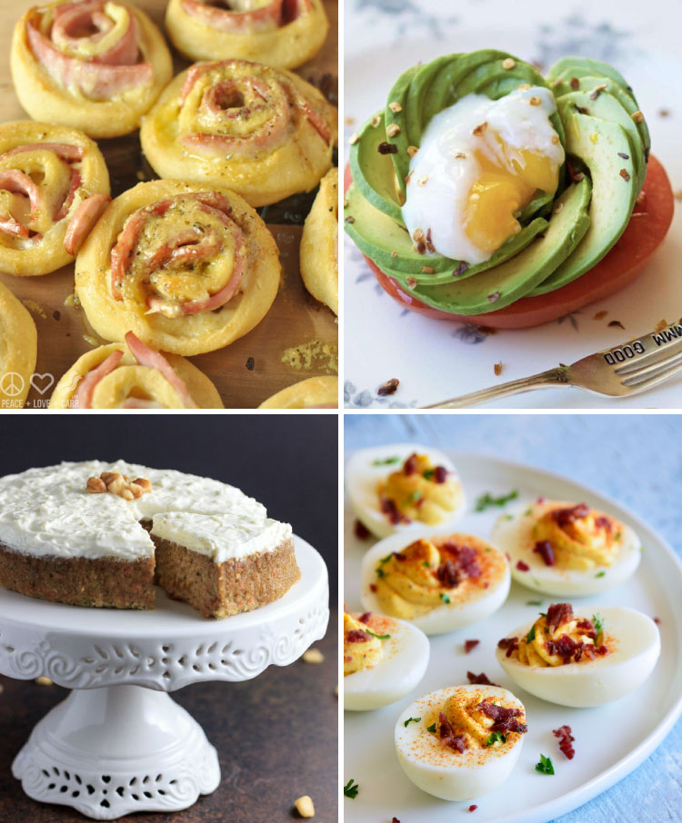 keto and low carb brunch ideas