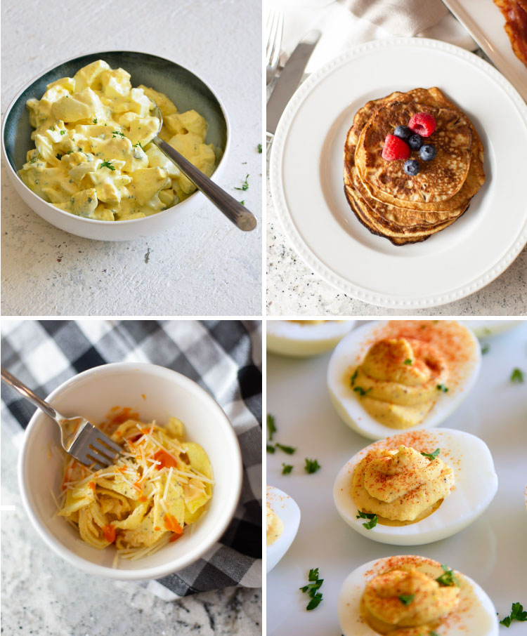 Easy and delish recipes for a 5 day Keto egg fast.